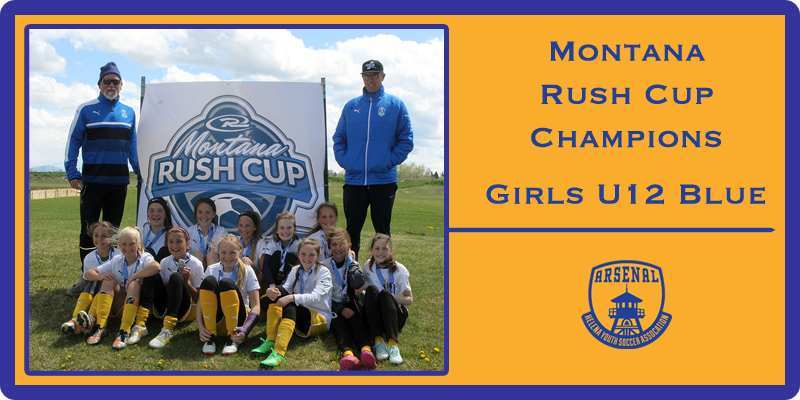 Montana Rush Champs ! Girls U12