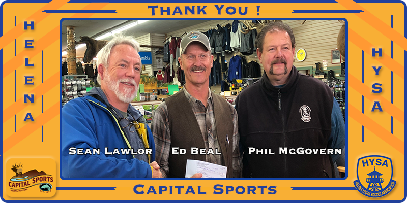 2018 Capital Sports 5 for 5 donation
