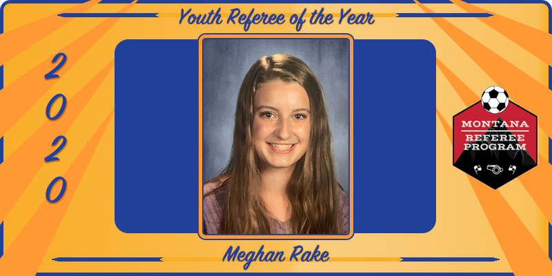 2020 Youth Referee of the Year