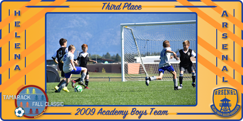 2009B Arsenal Academy at 2019 Tamarack