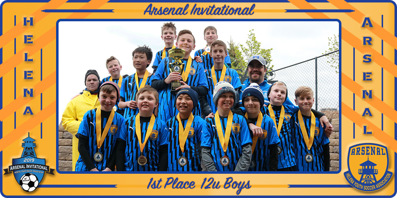 2019 Arsenal Invite 12u Boys