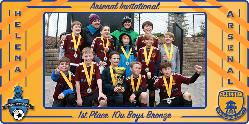 AI Tourney 10u Boys Bronze Champs