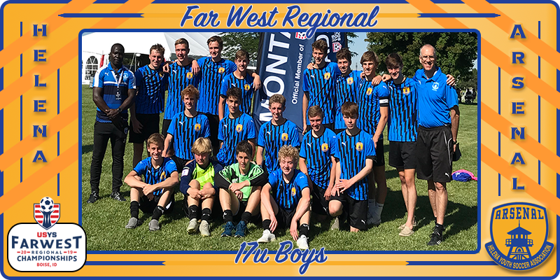 2002 Boys 2019 Regionals Competition