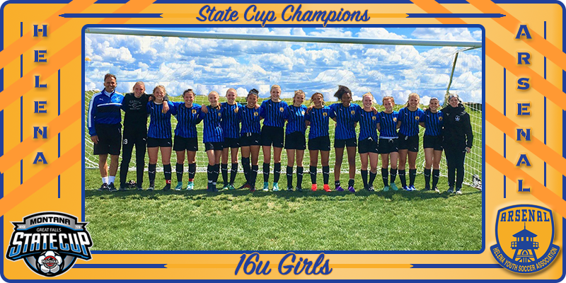 2019 State Cup Champs 16u Girls