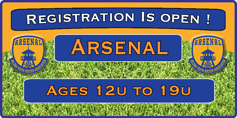 Arsenal Spring 2020 Registration is OPEN !